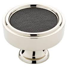 liberty 1 1 2 in polished chrome concave round cabinet knob