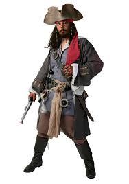 Plus Size Realistic Caribbean Pirate Costume Caribbean Pirates