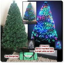 amazing fiber optic tree 7ft shining 7 ft christmas2017