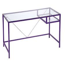 Pink Glass Desk Glass Computer Desk Big Lots 28 Images 44 Quot Black Glass