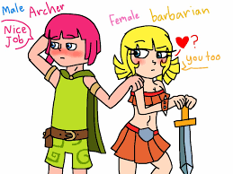 wallpapers arcer quen clash of clash of clans male archer x female barbarian by twodgorillaz21