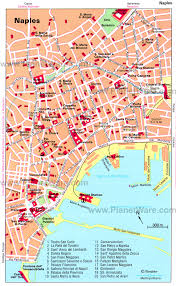 Italy City Map by Naples Tourist Map
