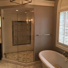neo angle glass showers a d glass mirror