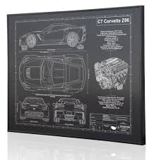 Where Can I Find Blueprints For My House Engraved Blueprint Art Custom Laser Engraved Blueprint Artwork