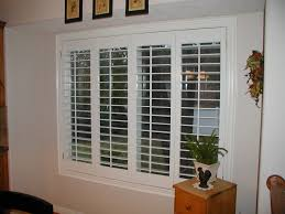 interior plantation shutters home depot stanfield shutter co accordion plantation shutters fold em as