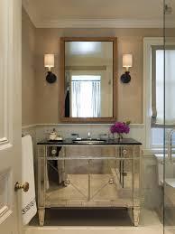 Mirror Vanity Bathroom Mirrored Bathroom Vanity Contemporary Bathroom Benjamin Dhong