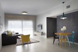 Young Couple Room Budget Minimalist Apartment Designed For A Young Couple In Israel