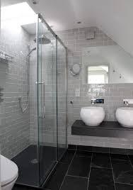 Black Bathroom Floor Tile The 25 Best Slate Tiles Ideas On Pinterest Grey Slate Tile