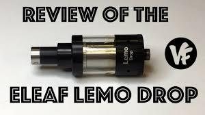 Eleaf Lemo Drop Rdta Rebuildable Atomizer 2 7ml review of the eleaf lemo drop rta