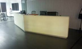 Illuminated Reception Desk Glacier Corian Illuminated Reception Desk By R D Wing Co