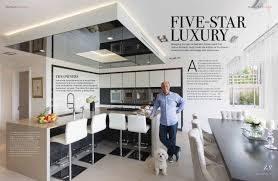 Designer Kitchens Magazine by Five Star Luxury Kitchen Neil Lerner Designs