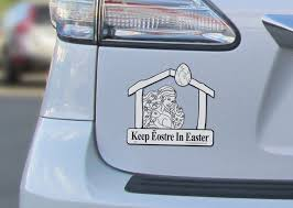 keep eostre in easter the car magnet