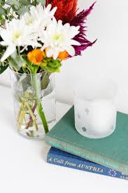Display Vase Diy Etched Glass Vase
