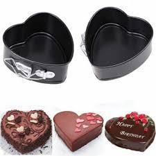 moule cuisine prix amovible gâteau moule en métal en forme de coeur en acier