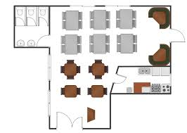 Cafeteria Floor Plan by Restaurant Floor Plans Software How To Create Restaurant Floor