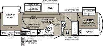 Sprinter 5th Wheel Floor Plans Best 5th Wheel Floor Plans Fifth Wheel Floorplans Camping
