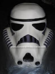 coolest stormtrooper birthday cake