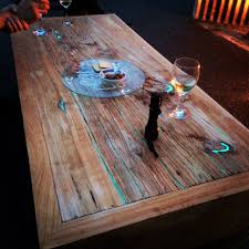 Table Top Ideas Patio Dining Sets Clear Coat Resin Epoxy Resin Wood Countertops