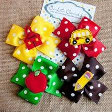 back to school hair bows back to school hair bow from our charmed headbands