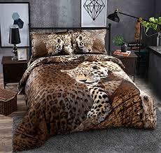 sexy bedroom sets warm tour 4pcs 4 pieces 3d bedding sets sexy leopard cheetah animal
