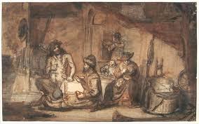 barent fabritius de sater op bezoek bij de boer circa 1652 1662