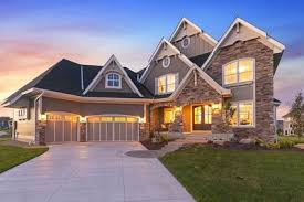 Two Story Craftsman by Exciting Craftsman House Plan With Finished Two Story Sports Court