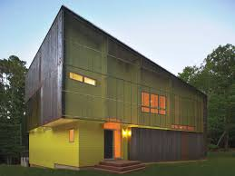 modern home design north carolina crabill house a modern energy efficient forest shed in north