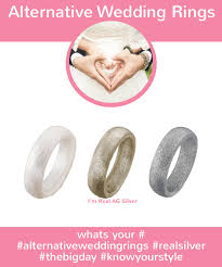 alternative wedding ring miband silicone rings silicone wedding ring alternative