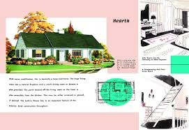 Cape Cod House Plan Vintage House Plans 311h Antique Alter Ego 1950s Craf Luxihome