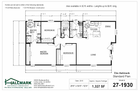 Home Floor Plan by The Hallmark Standard Floor Plan Hallmark Southwest