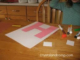 letter of the week h alphabet activities for preschoolers