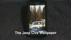 jeep wallpaper the jeep live wallpaper youtube
