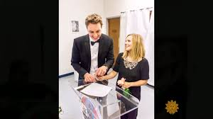 bolã ro mariage kristen bell shares wedding photos with dax shepard time