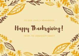 thanksgiving card templates canva