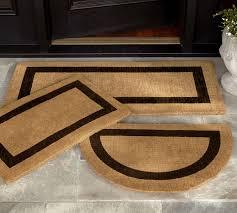 Outdoor Coir Doormats Picture Frame Doormat Pottery Barn