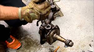 1955 ford f100 front axle pin removal youtube