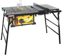 dewalt table saw folding stand rousseau 2790 table saw stand for larger portable saws replaces