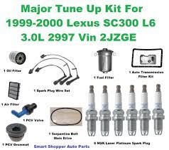 nissan altima fuel filter tune up kit for 98 00 lexus gs400 laser iridium spark plugs belt