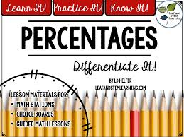 percentage increase decrease using a multiplier worksheet with
