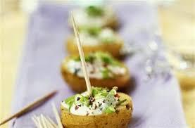 recette canapé apéritif facile apéritif végétarien 40 recettes originales pommes de terre au