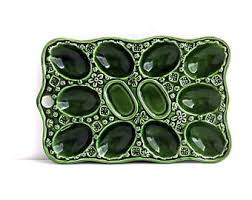 ceramic egg trays deviled egg tray etsy