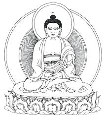 Buddhist Coloring Pages Coloring Pages Buddha Mandala Coloring Buddhist Coloring Pages