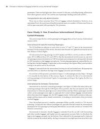 United Airlines Baggage Costs Chapter 3 Airport Case Studies Elimination Or Reduction Of