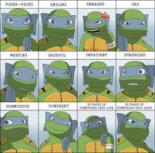 Tmnt Meme - izanami 2012 expression meme by els e on deviantart