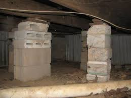 sagging crawl space problems in pennsylvania repairing sinking