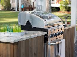 Outdoor Kitchen Cabinets Kits by How To Build A Grilling Island How Tos Diy