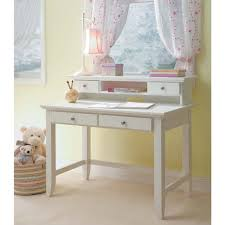 awesome white desk with drawers and hutch sandy beach computer