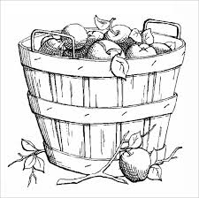 bucket filling coloring pages 21 fall coloring pages u2013 free word pdf jpeg png format