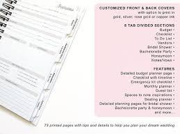 bridal shower planner future mrs wedding planner book wedding planner journal