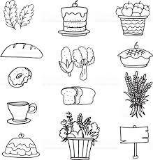 draw stock thanksgiving on doodles stock vector 618044880